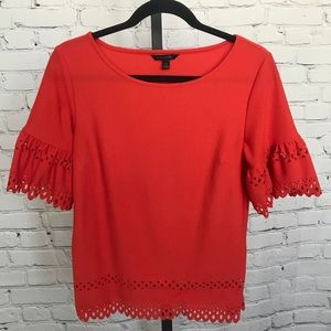 Banana Republic Blouse with Eyelet Details